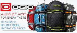 Ogio Motorcycle Gear Bags, Helmet Gear and Hydration Packs