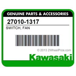 KAWASAKI 27010-1317 SWITCH, FAN