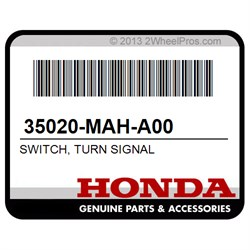 HONDA 35020-MAH-A00 SWITCH, TURN SIGNAL