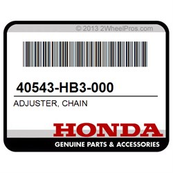 HONDA 40543-HB3-000 ADJUSTER, CHAIN