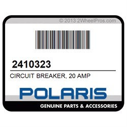 POLARIS 2410323 CIRCUIT BREAKER, 20 AMP