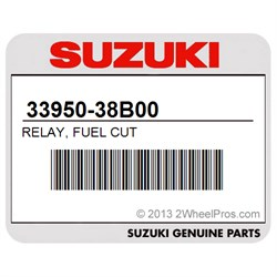 SUZUKI 33950-38B00 RELAY, FUEL CUT