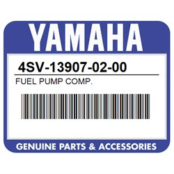 YAMAHA 4SV-13907-02-00 FUEL PUMP COMP
