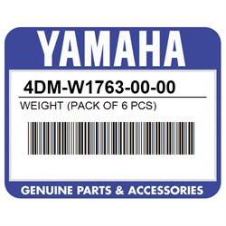 YAMAHA 4DM-W1763-00-00 WEIGHT