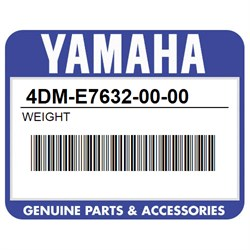 YAMAHA 4DM-E7632-00-00 WEIGHT