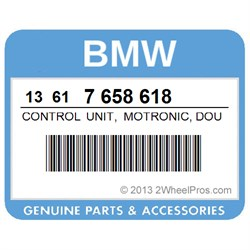 13617658618 BMW Control Unit, Motronic, Double - Ignition - Ma 2 4
