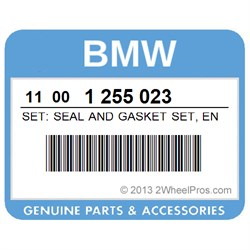 BMW 11001255023 SET: SEAL AND GASKET SET, ENGINE (TO 09/75)