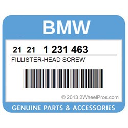 BMW 21211231463 FILLISTER-HEAD SCREW