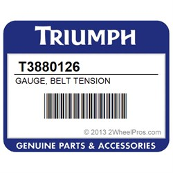 T3880126 Triumph Gauge Belt Tension 2wheelpros