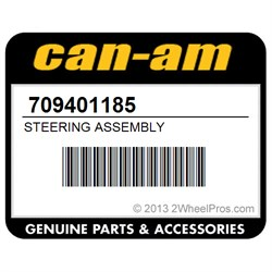 CAN AM 709401185 STEERING ASSEMBLY