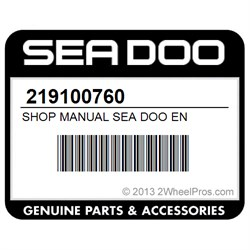 2013 sea doo shop manual
