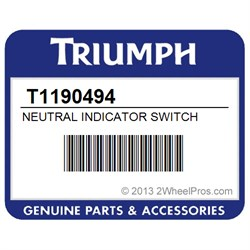T1190494 Triumph Neutral Indicator Switch 2473 2wheelpros