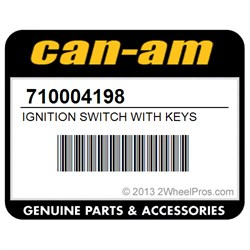 Ignition Switch With Keys